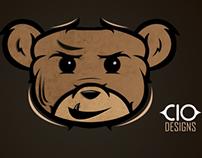 Cartooned BEAR.