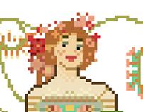 Pixel art (masterpiece series)