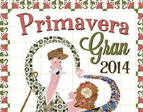 "Leaflet and poster the ""Primavera Gran"" of Igualada"