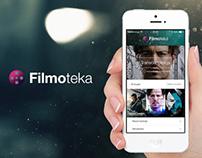 Filmoteka mobile app
