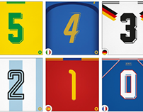 36 days of type - World Cup in Numbers