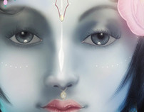 SRI KRISHNA - FACE