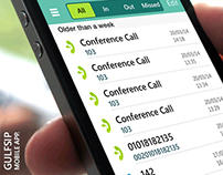 GULFSIP Mobile Application - Calls & SMS App.