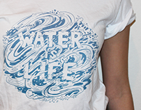 Water is Life shirt design