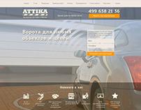 Landing page for Attika