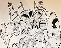 Illustrations - Random Giant Robots 02