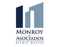 """Identidad gráfica y web """"Monroy y Asociados"""""""