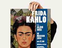 Poster conferenza FRIDA KAHLO