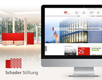 SCHADER STIFTUNG // WEBSITE