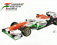 Sahara Force India  VJM06 2013