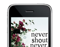Iphone Apps - Never Shout Never