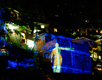 Video Mapping - Morro Dona Marta_RJ/2010