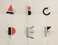 Abecedario inspiración El Lissitzky