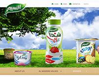 Al Naseem Dairy Web site