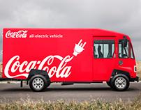 Coca-Cola Electric Truck Mock-Up