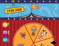 Circus Shuffle Game