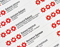 Balassi Institute • Identity manual