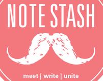 Branding Concept + Student Work-Note Stash™