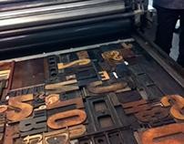 Hand Set TypePosters