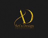 Art'n Design Logo Design - Limited Furnitures