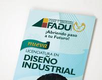 Folleto para Licenciatura de la FADU