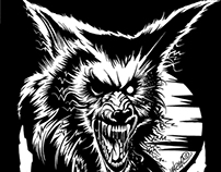 Werewolves in Siberia Shirt Design