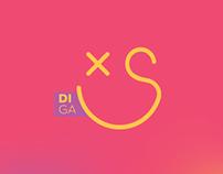 Identidade Visual - Diga Xs