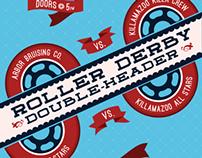 Roller Derby Poster Redux 6.7.14