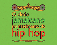 Infographic - O dedo jamaicano no nascimento do hip hop