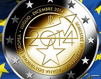 2 Euro bimetallic coin - Italy 2014