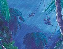 DKC: Rainy Beats