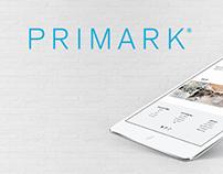 Primark Onlineshop Design Concept