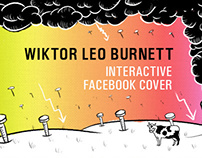 Wiktor Leo Burnett interactive FB cover