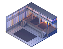 'Kyoto Wild' Dojo (Game Concept Level)