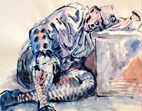 Sheridan Life drawing portfolio