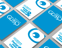 Logo & Business Card - Glop Studio