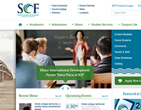State College of Florida 2012 homepage redesign