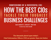 Confessions of a Successful CIO: Infographic