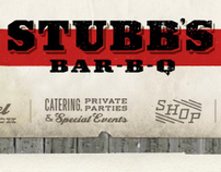 Stubb's BBQ Website