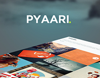 Pyaari Website PSD Template