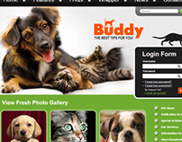 Buddy Dog Club Joomla Template