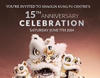 Shaolin Kung Fu Centre's 15th Anniversary Promo