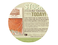 Cooke Tavern Soups  Catalog Insert