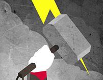Minimalism : Super Heroes