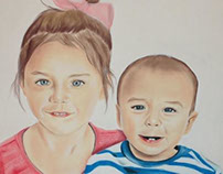 THE BEST DAY: Mother's Day Gift | Pastel Painting