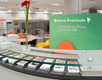 Imágen de identidad corporativa - Banco Provincia