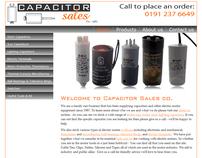 Capacitor Sales Website & Branding