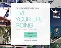 Go Skateboarding