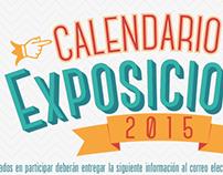 Calendario de Exposiciones 2015