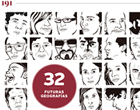 """""""32 Futuras Geografías"""" en Tierra Adentro"""